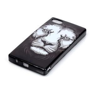 Softs gélový obal pre Sony Xperia Z5 Compact - lev - 2