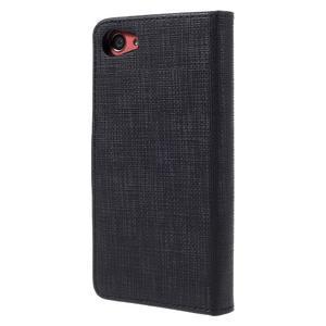Grid Peňaženkové puzdro pre mobil Sony Xperia Z5 Compact - čierne - 2