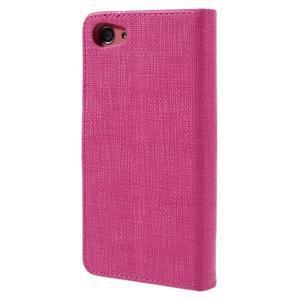 Grid Peňaženkové puzdro pre mobil Sony Xperia Z5 Compact - rose - 2