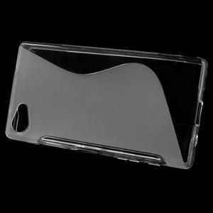 S-line gelový obal na Sony Xperia Z5 Compact - transparentní - 2