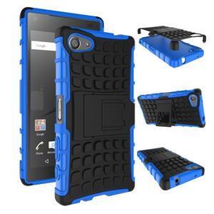 Outdoor odolný kryt pre mobil Sony Xperia Z5 Compact - modrý - 2