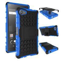 Outdoor odolný kryt pre mobil Sony Xperia Z5 Compact - modrý - 2/2