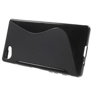 S-line gelový obal na Sony Xperia Z5 Compact - černý - 2