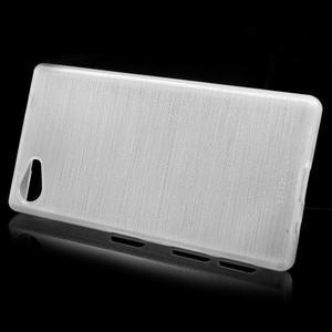 Brush gélový obal pre Sony Xperia Z5 Compact - biely - 2