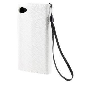 Štýlové Peňaženkové puzdro pre Sony Xperia Z5 Compact - rose - 2