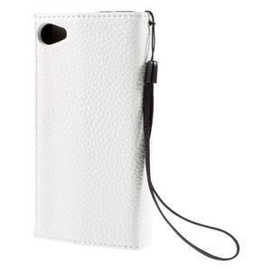Štýlové Peňaženkové puzdro pre Sony Xperia Z5 Compact - modré - 2