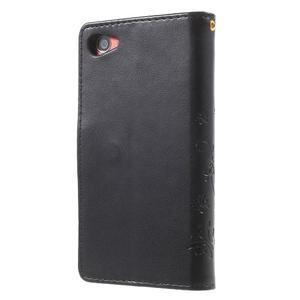 Butterfly Peňaženkové puzdro pre Sony Xperia Z5 Compact - čierne - 2