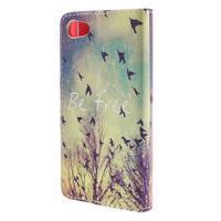 Diary peněženkové pouzdro na Sony Xperia Z5 Compact - ptáčci - 2/7