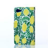 Sand pouzdro na mobil Sony Xperia Z5 Compact - ovocný strom - 2/5