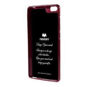 Jells gélový obal pre mobil Xiaomi Mi Note - červený - 2