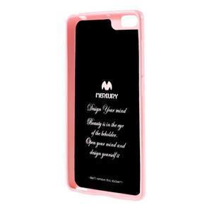 Jells gélový obal pre mobil Xiaomi Mi Note - ružový - 2