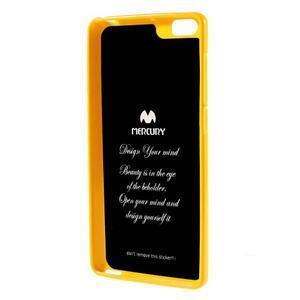 Jells gélový obal pre mobil Xiaomi Mi Note - žlutý - 2