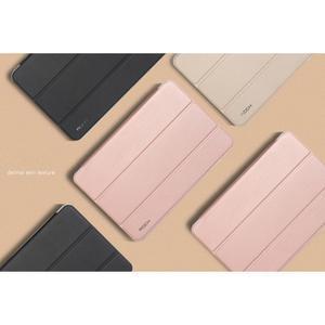 Trifold polohovateľné puzdro pre tablet Xiaomi Mi Pad 2 - zlatoružové - 2