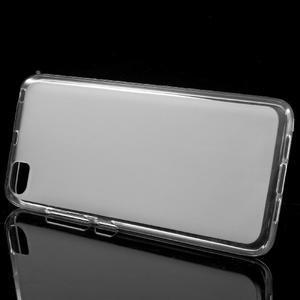 Matný gélový obal pre mobil Xiaomi Mi5 - biele - 2