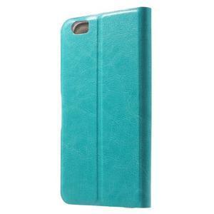 Horse peňaženkové puzdro pre mobil Xiaomi Mi5 - modré - 2