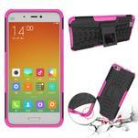 Odolný outdoor obal pre mobil Xiaomi Mi5 - rose - 2/4