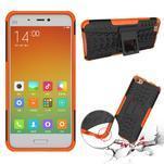 Odolný outdoor obal pre mobil Xiaomi Mi5 - oranžový - 2/4