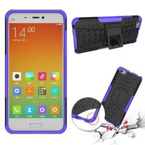 Odolný outdoor obal pre mobil Xiaomi Mi5 - fialový - 2