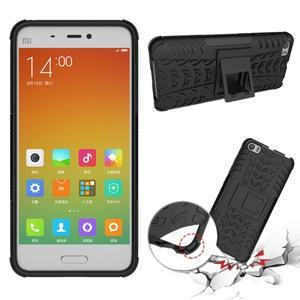 Odolný outdoor obal na mobil Xiaomi Mi5 - černý - 2