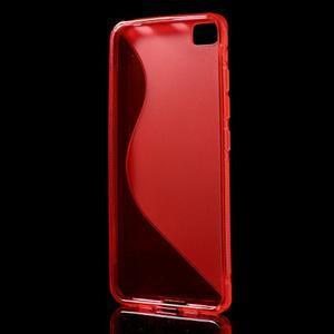 S-line gélový obal pre mobil Xiaomi Mi5 - červený - 2