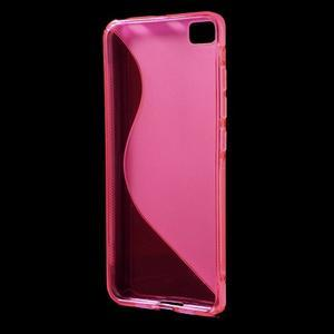 S-line gelový obal na mobil Xiaomi Mi5 - rose - 2