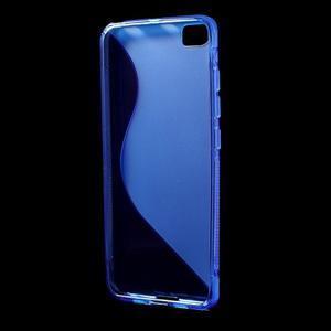 S-line gélový obal pre mobil Xiaomi Mi5 - modrý - 2