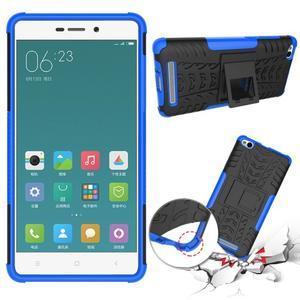 Outdoor odolný obal na mobil Xiaomi Redmi 3 - modrý - 2