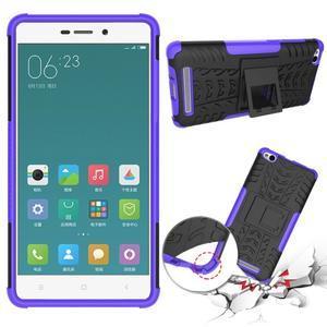 Outdoor odolný obal na mobil Xiaomi Redmi 3 - fialový - 2