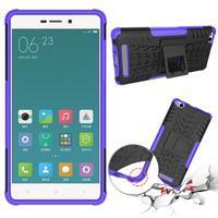 Outdoor odolný obal na mobil Xiaomi Redmi 3 - fialový - 2/2