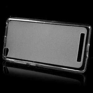 Matné gelové pouzdro na mobil Xiaomi Redmi 3 - transparentní - 2