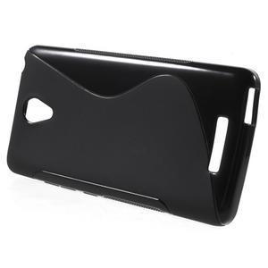 S-line gélový obal pre mobil Xiaomi Redmi Note 2 - čierny - 2