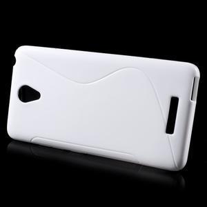 S-line gélový obal pre mobil Xiaomi Redmi Note 2 - biele - 2