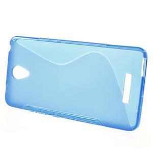 S-line gélový obal pre mobil Xiaomi Redmi Note 2 - modrý - 2