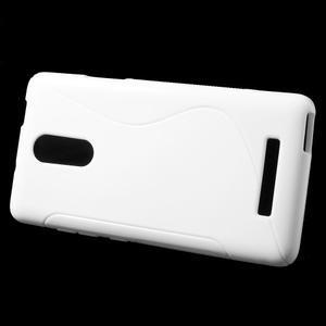 S-line gélový obal pre Xiaomi Redmi Note 3 - biele - 2
