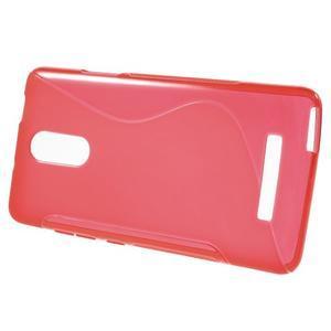 S-line gélový obal pre Xiaomi Redmi Note 3 - červený - 2