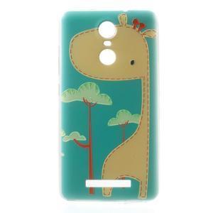 Softy gélový obal pre Xiaomi Redmi Note 3 - žirafa - 2