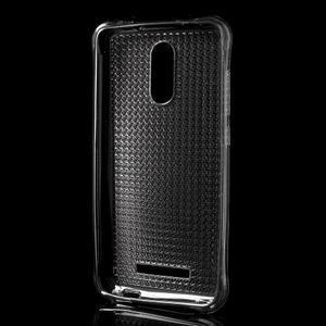 Diamonds gélový obal pre Xiaomi Redmi Note 3 - sivý - 2