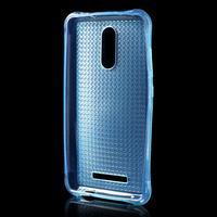 Diamonds gélový obal pre Xiaomi Redmi Note 3 - modrý - 2/5
