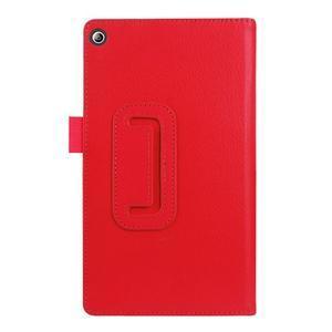 Dvojpolohové puzdro pre tablet Lenovo Tab 2 A7-20 - červené - 2