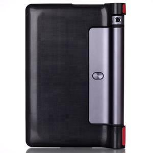 Polohovatelnotelné PU kožené pouzdro na Lenovo Yoga Tab 3 8.0 - červené - 2