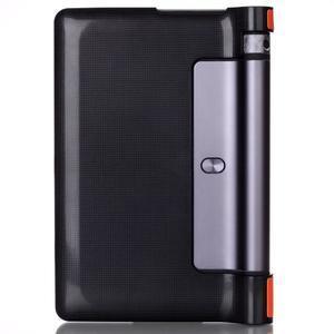 Polohovatelné PU kožené puzdro pre Lenovo Yoga Tab 3 8.0 - oranžové - 2