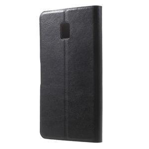 Horse peňaženkové puzdro pre Lenovo Vibe P1 - čierné - 2
