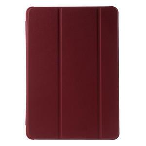 Trifold polohovatelné puzdro na Samsung Galaxy Tab A 9.7 - červené - 2