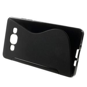 Gélové s-line puzdro na Samsung Galaxy A3 - čierné - 2