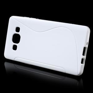 Gélové s-line puzdro pre Samsung Galaxy A3    - biele - 2