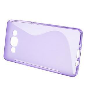 Gélové s-line puzdro na Samsung Galaxy A3 - fialová - 2