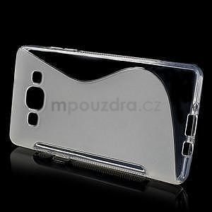 Gélové s-line puzdro pre Samsung Galaxy A5 - transparentný - 2
