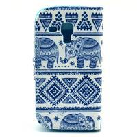 Safety puzdro pre Samsung Galaxy S Duos/Trend Plus - slony - 2/5