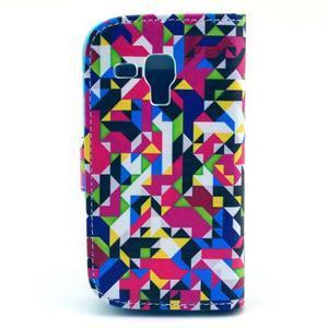 Safety puzdro pre Samsung Galaxy S Duos / Trend Plus - mozaika fareb - 2