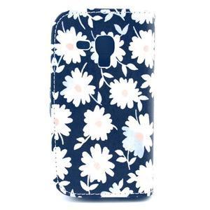 Safety puzdro pre Samsung Galaxy S Duos / Trend Plus - kvietky - 2